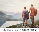 Travel People  Hikers Standing...