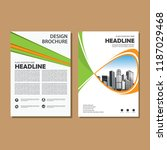 simple cover  layout  brochure  ...   Shutterstock .eps vector #1187029468