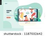 business series  color 1  error ... | Shutterstock .eps vector #1187032642