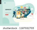 business series  color 1  ... | Shutterstock .eps vector #1187032705