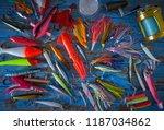 valencia spain 0920  fishing... | Shutterstock . vector #1187034862