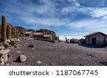 salar de uyuni  bolivia  march...   Shutterstock . vector #1187067745