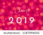 greeting card template with...   Shutterstock .eps vector #1187096032