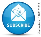 subscribe  newsletter email... | Shutterstock . vector #1187101015