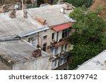 odessa  ukraine   sep. 09  2018 ...   Shutterstock . vector #1187109742