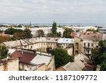 odessa  ukraine   sep. 09  2018 ...   Shutterstock . vector #1187109772