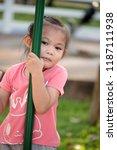 asian girls ages cute. asian... | Shutterstock . vector #1187111938