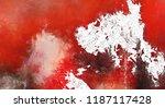 modern art. colorful... | Shutterstock . vector #1187117428