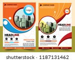 business abstract vector... | Shutterstock .eps vector #1187131462