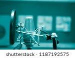recording audio studio...