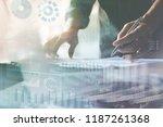 business analysis  investment ...   Shutterstock . vector #1187261368