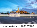 wat phra kaew the temple of the ... | Shutterstock . vector #1187267188