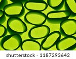 green small objects on a bright ... | Shutterstock . vector #1187293642
