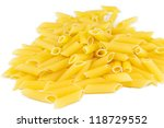 penne isolated | Shutterstock . vector #118729552