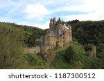 romantic castle in eltz | Shutterstock . vector #1187300512