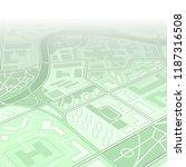 city map navigation  color... | Shutterstock .eps vector #1187316508