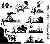disaster doomsday catastrophe... | Shutterstock .eps vector #118733002