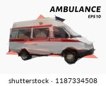 the ambulance is made up of... | Shutterstock .eps vector #1187334508