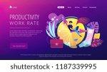 a freelance developer sitting... | Shutterstock .eps vector #1187339995