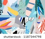 creative art background.... | Shutterstock .eps vector #1187344798