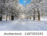 czech republic  marianske lazne ... | Shutterstock . vector #1187353192
