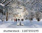 czech republic  marianske lazne ... | Shutterstock . vector #1187353195