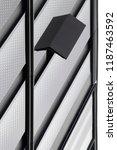glass and metal. tilt close up... | Shutterstock . vector #1187463592