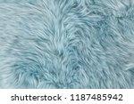 natural sheepskin rug... | Shutterstock . vector #1187485942