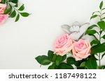 fresh rose flowers | Shutterstock . vector #1187498122