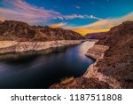 Hoover Dam At Sunrise