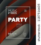 night party banner template for ...   Shutterstock .eps vector #1187516605