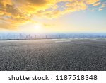 panoramic skyline and buildings ... | Shutterstock . vector #1187518348