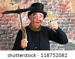 Happy Chimney Sweep Toasting T...