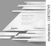 vector illustration abstract... | Shutterstock .eps vector #118752745