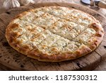 delicious garlic fingers with... | Shutterstock . vector #1187530312