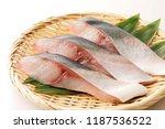 fillet of yellowtail   Shutterstock . vector #1187536522