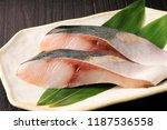 fillet of yellowtail   Shutterstock . vector #1187536558
