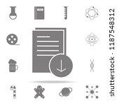 download document icon. web...