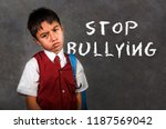 dramatic portrait of young...   Shutterstock . vector #1187569042