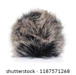fur ball isolated on white...   Shutterstock . vector #1187571268