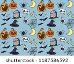 spider bats potion | Shutterstock . vector #1187586592