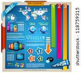 infographic elements   set of... | Shutterstock .eps vector #118759315
