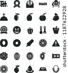 solid black flat icon set... | Shutterstock .eps vector #1187622928