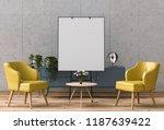 3d render of living room... | Shutterstock . vector #1187639422