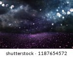 glitter vintage lights... | Shutterstock . vector #1187654572