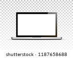 vector mock up. realistic... | Shutterstock .eps vector #1187658688