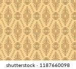 vector seamless pattern in...   Shutterstock .eps vector #1187660098