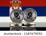 physical version of ethereum ... | Shutterstock . vector #1187679052