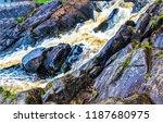 Waterfall Rocks View. Waterfal...