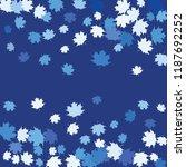 confetti of multicolored leaves ... | Shutterstock .eps vector #1187692252